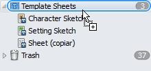 añadir archivo al binder