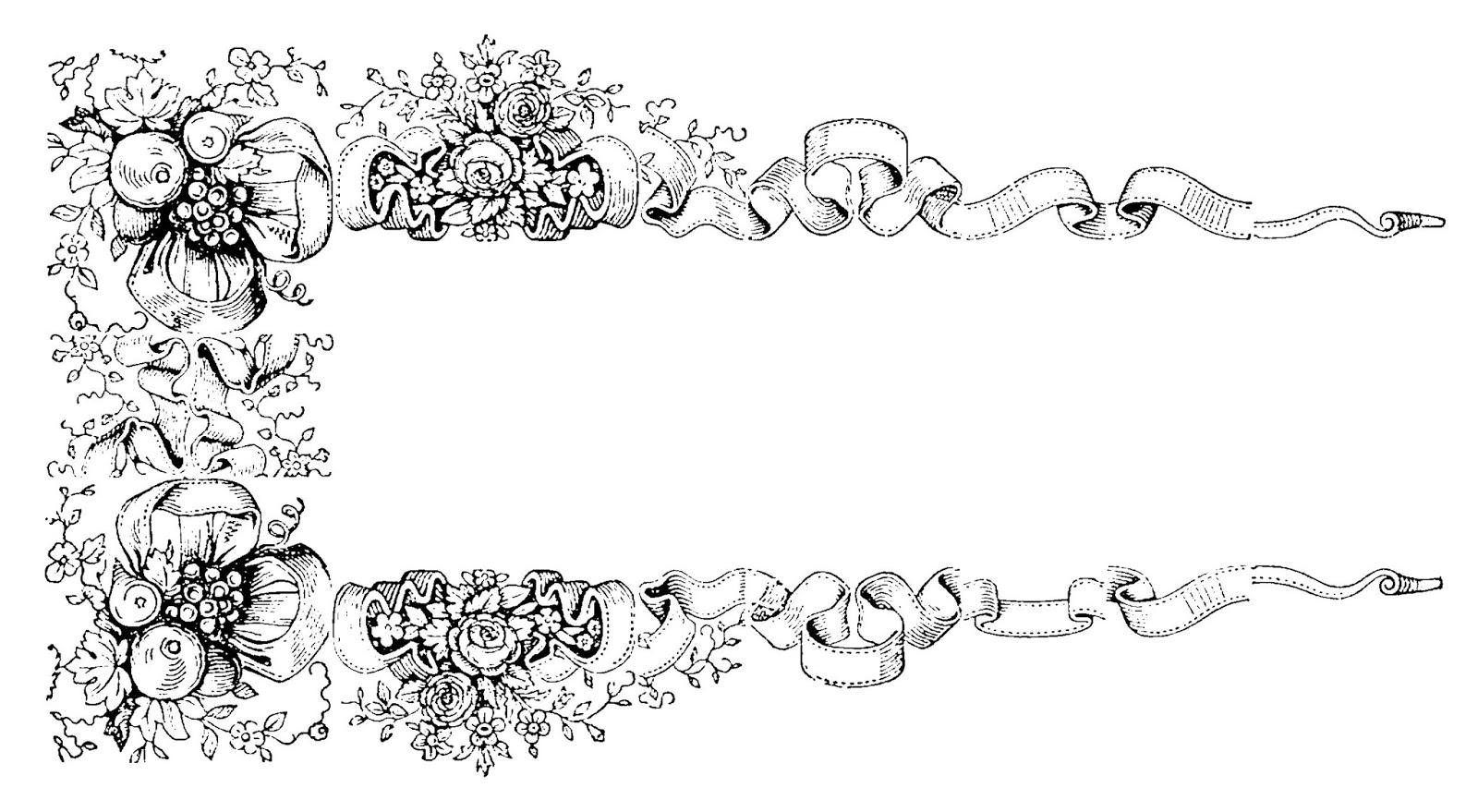 digital stamp design  decorative label frame designs