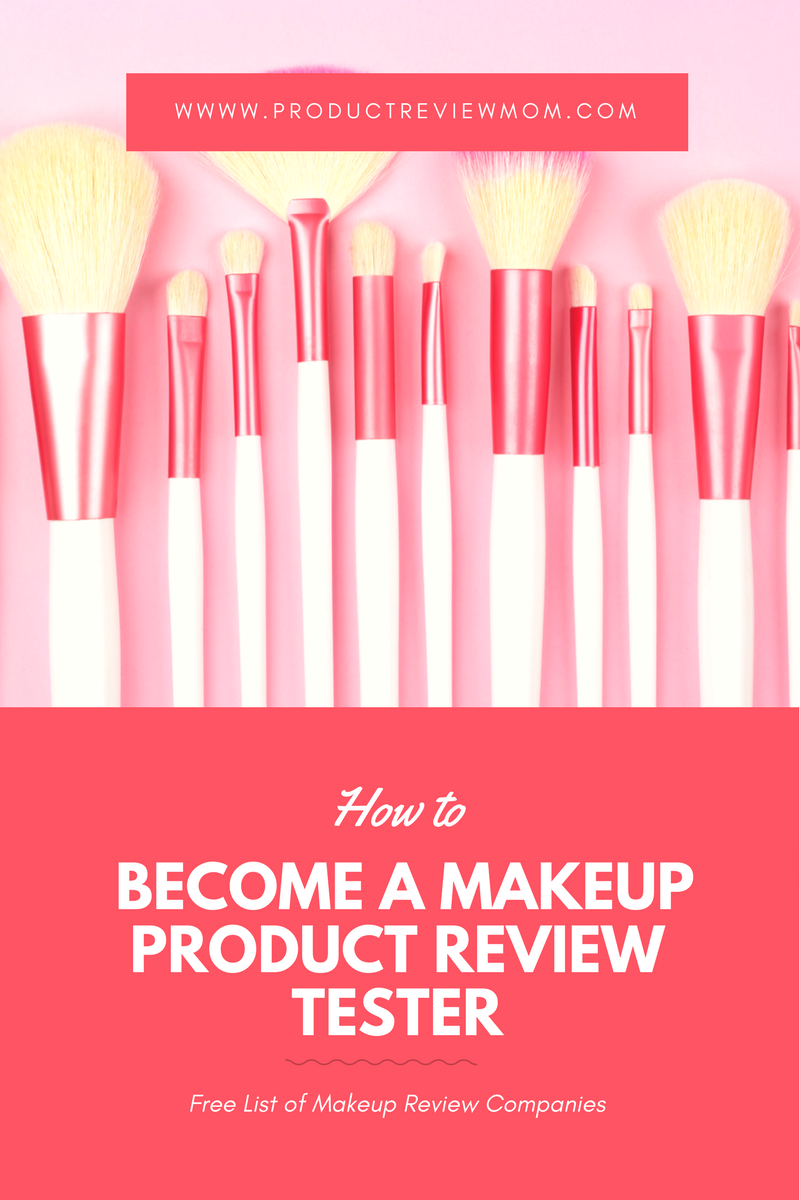 How to Become a Makeup Product Review Tester?  via  www.productreviewmom.com