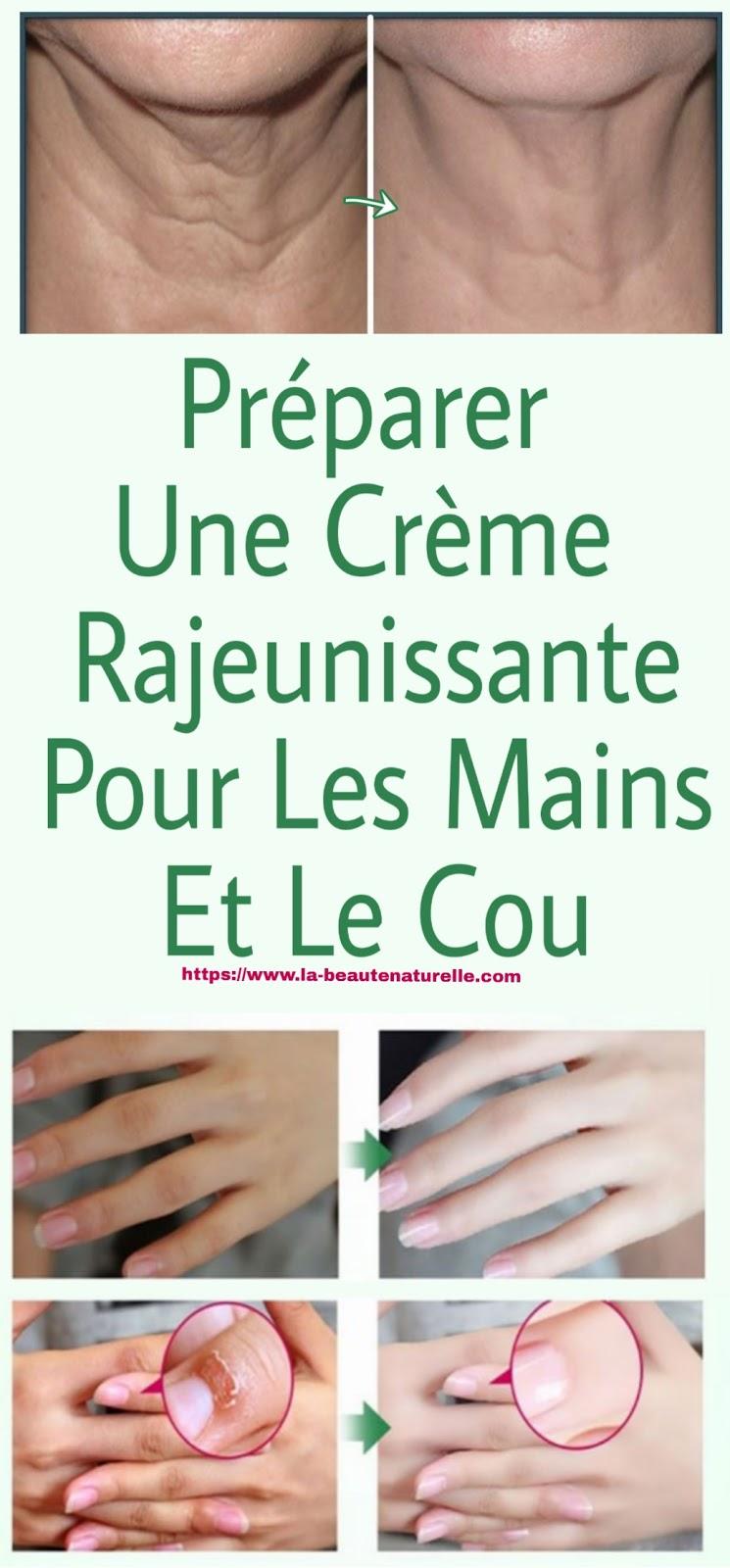 Préparer Une Crème Rajeunissante Pour Les Mains Et Le Cou
