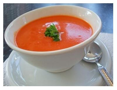 Como Fazer Sopa de Tomate Cremosa (fria ou quente)