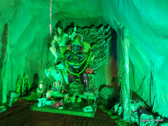 Ganesh Chaturthi Pandal at Mysore