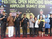 Wali Kota Hadiri Pembukaan Festival Open Marching Band 2018