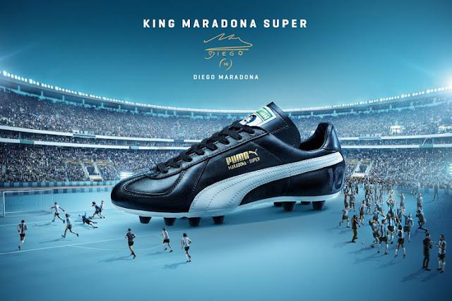 Puma vuelve a relanzar las botas de Maradona