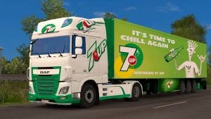 7up pack for DAF Euro 6 by EviL