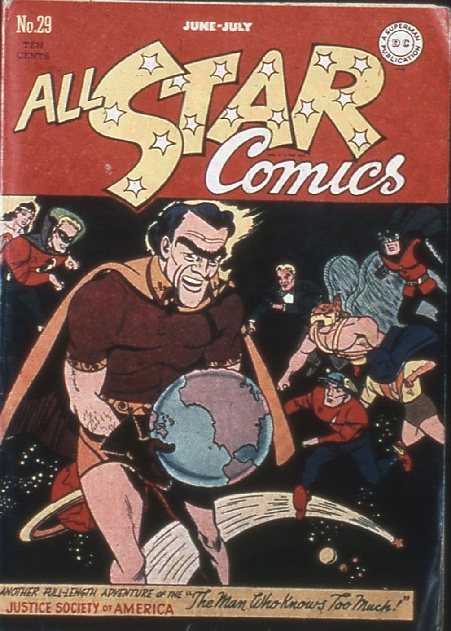 All-Star Comics (1940) issue 29 - Page 1