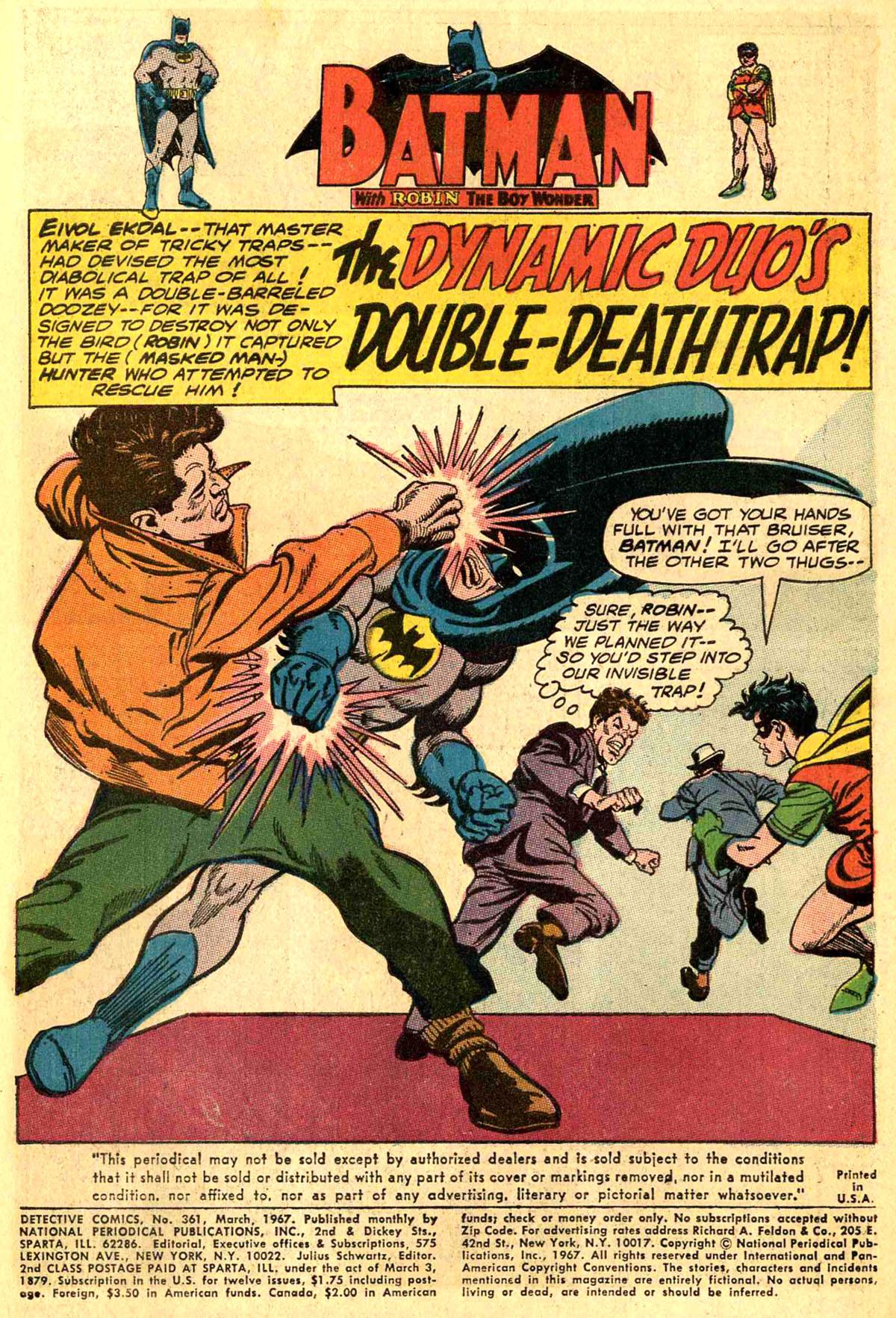 Detective Comics (1937) 361 Page 2