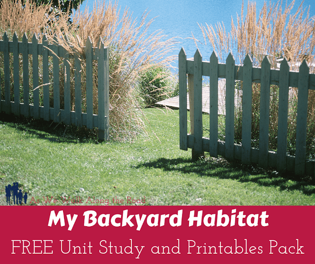 Free My Backyard Habitat Unit Study