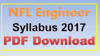 NFL Engineer Syllabus 2017 PDF Download