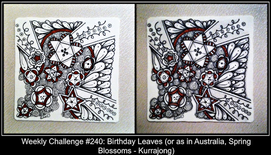 Weekly Challenge #240: Birthday Leaves (or as in Australia, Spring Blossoms - Kurrajong)
