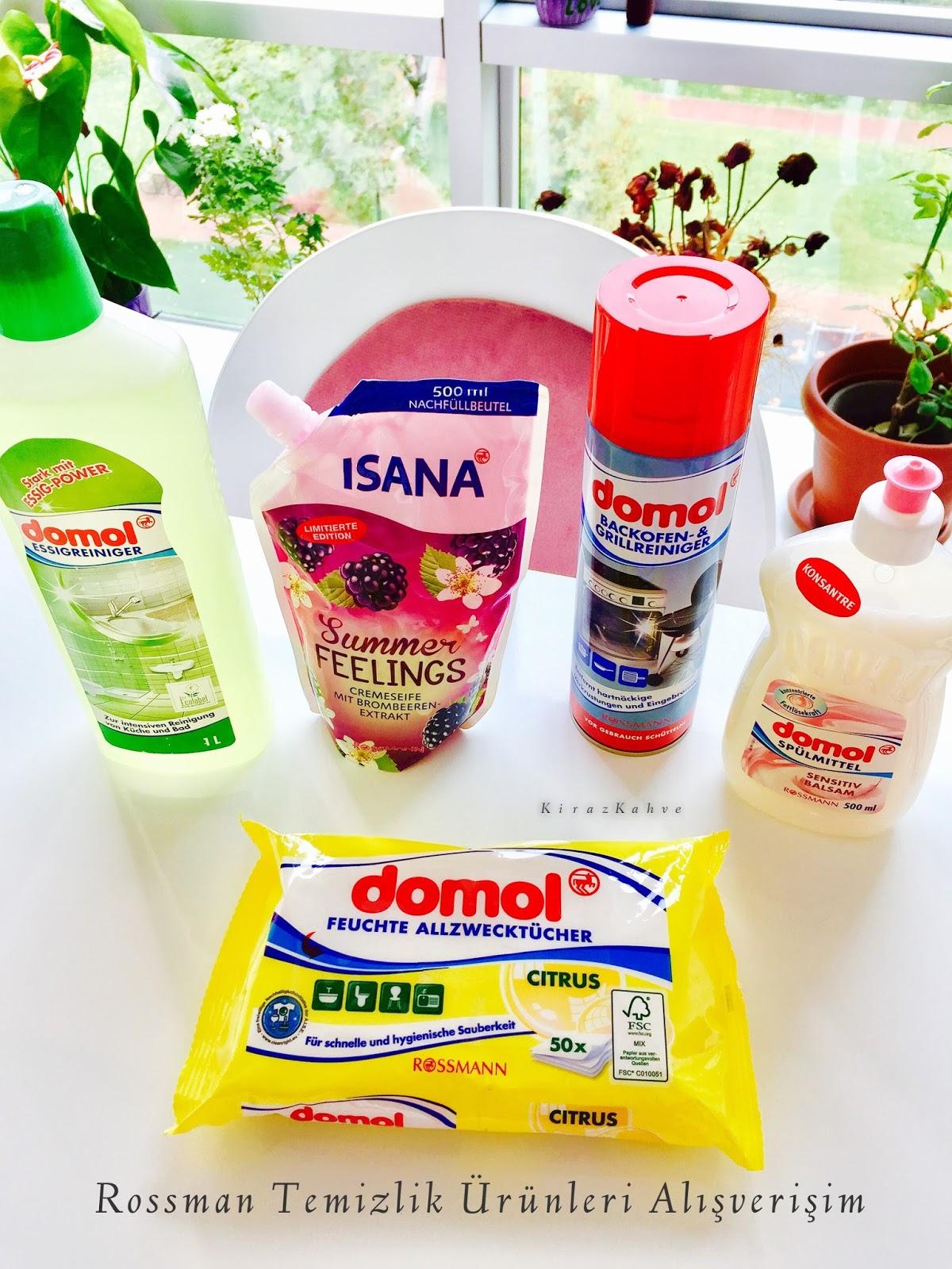 Rossman Temizlik Ürünleri Alışverişim ~ Fırın Temizleyici - Genel Amaçlı Islak Bez - Yüzey Temizleyici - Sıvı Sabun - Bulaşık Deterjanı İncelemesi