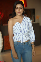 Avantika Mishra in One Shoulder Crop Top and Denim Jeggings ~  Exclusive 015.JPG