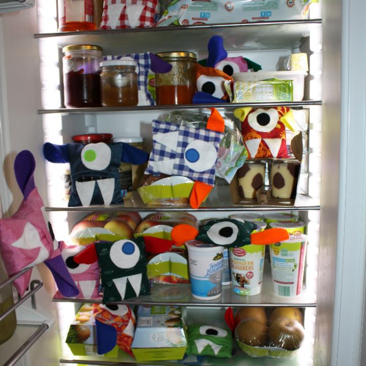 Kühlschrank voller Monster