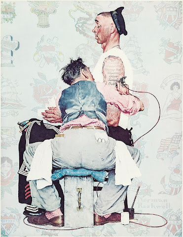 Tatto Master by Norman Rockwell