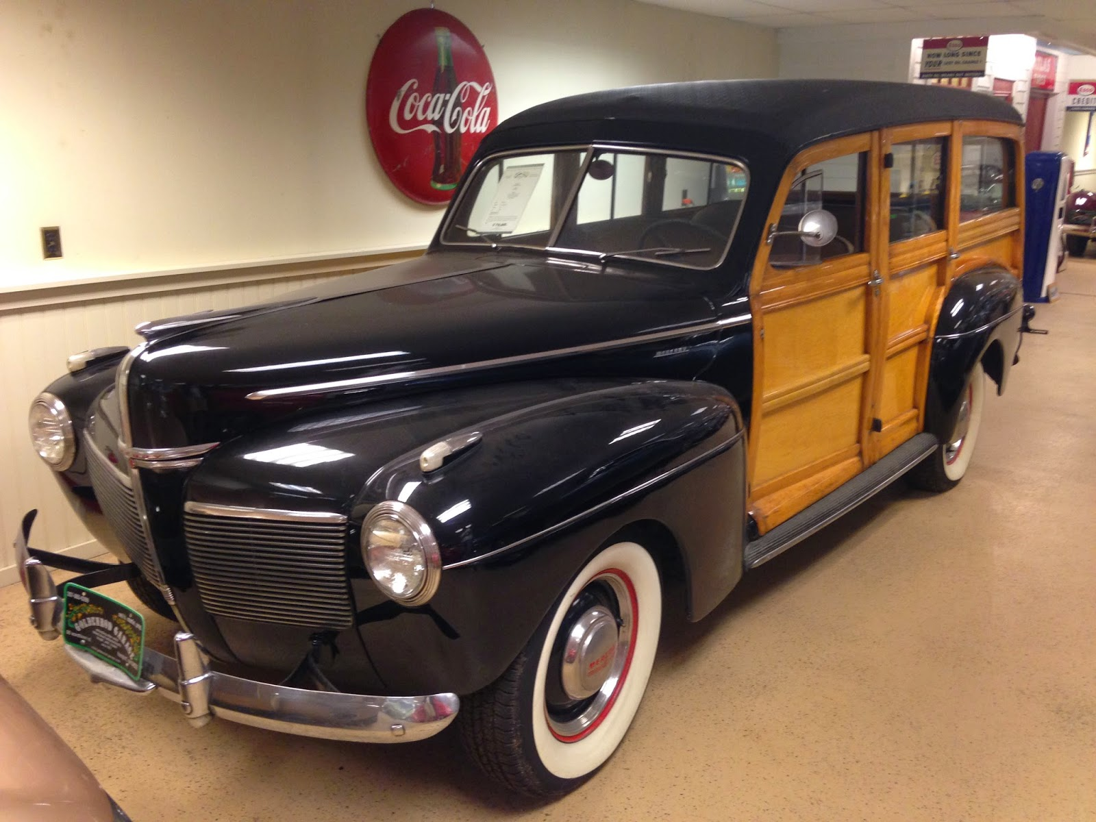 Autoliterate 1941 Mercury Woody Wagon For Sale Plymouth Station