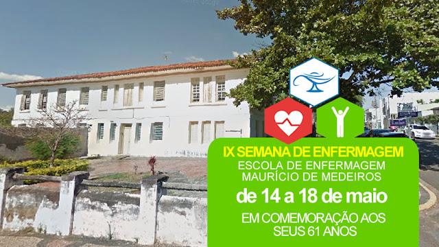 Escola Maurício de Medeiros realiza a 'IX Semana de Enfermagem'