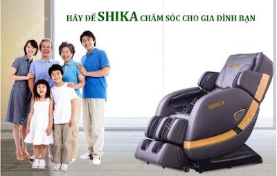 Ghế massage toàn thân SHIKA 3D 8902