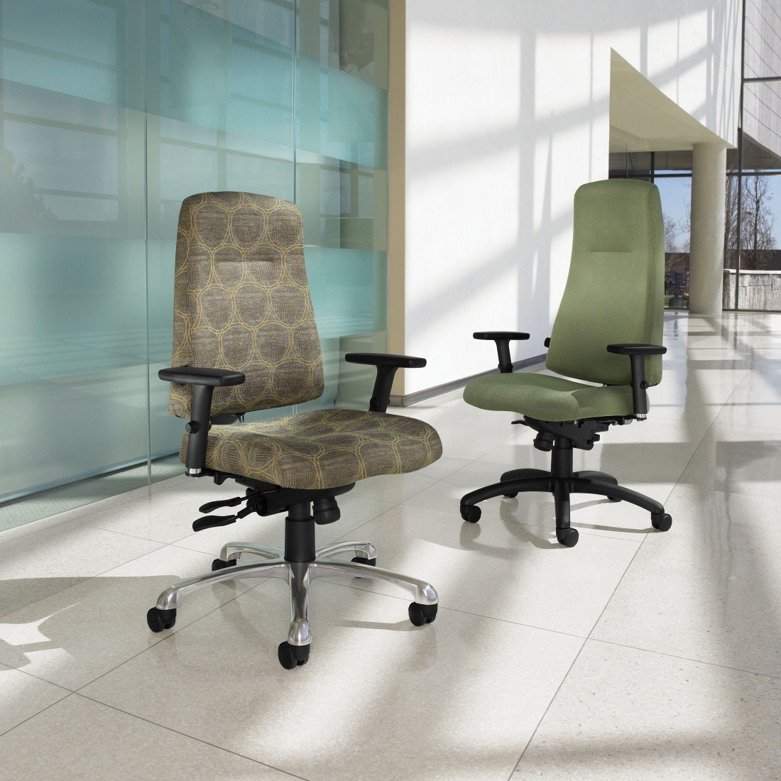 Indulge In Comfort With Global Total Office