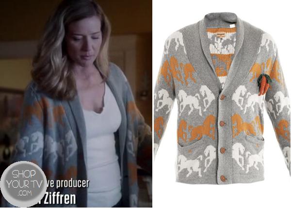 Twisted: Season 1 Episode 3 Tess's Horse Print Sweater