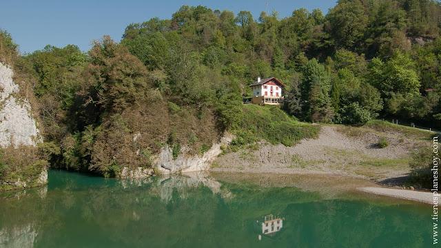 Ruta  facil cascada Kakueta garganta francia pirineos senderismo