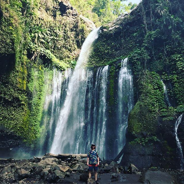 Air terjun Sendang Gile, Lombok - Foto @ds_iroen