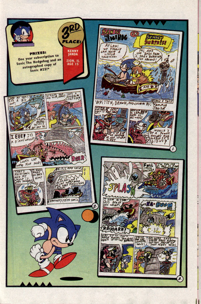 Read online Sonic The Hedgehog comic -  Issue #23 - 19