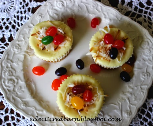Kraft Easter Mini cheesecakes