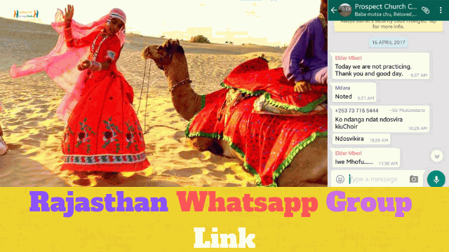 59+ Best Rajasthan Whatsapp Group Link List For All