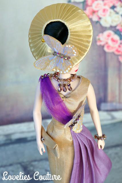 ooak silkstone vintage barbie couture fashion