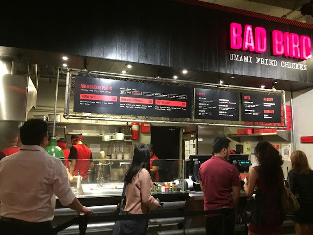 Bad Bird at Hole in the Wall at Century City Mall