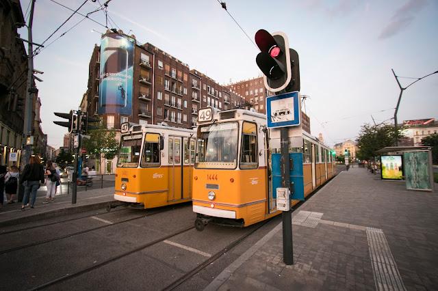 Tram a Deák Ferenc utca-Budapest