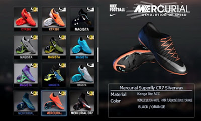 PES 2013 Marcus Rashford Nike Mercurial Vapor X Blacked-Out Boots by Ronaldo7rm