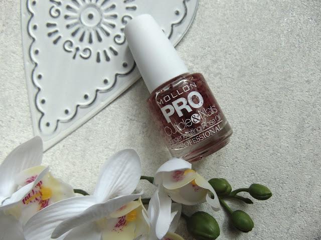 MOLLON PRO - Różany olejek do paznokci i skórek