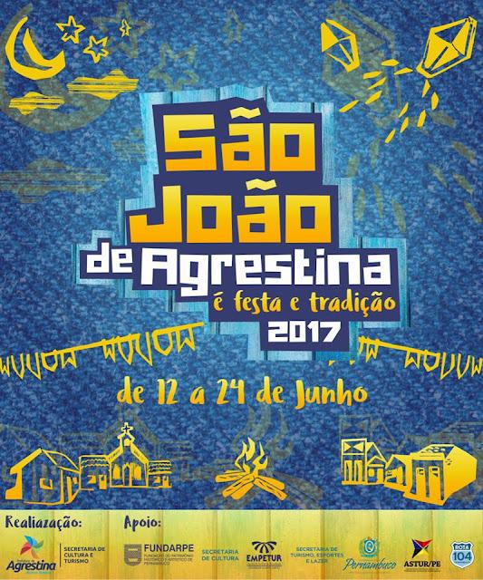BCN JUNINO: Mais três atrações confirmadas no São João de Agrestina