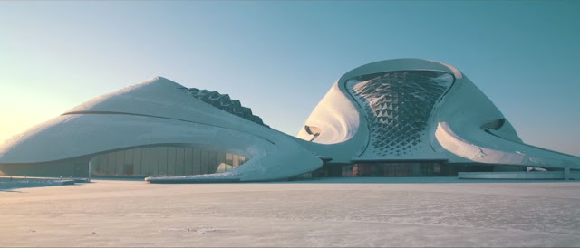 Iwan Baan photographing the breath-taking MAD´s Harbin Opera House
