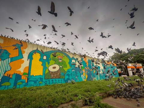 SONG OF THE CITY: INDIA'S LARGEST MURAL IN MAHARASHTRA'S LARGEST JAIL