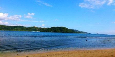 pantai carocok sumatera barat pantai carocok painan sumatera barat pantai carocok pesisir selatan