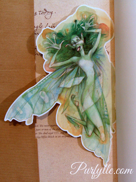 Fairy beautiful book mark