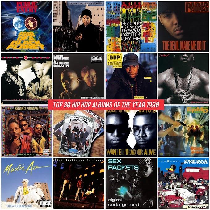 Top 30 Hip Hop Albums of the Year 1990 | Mediafire / MEGA | 320 kbps