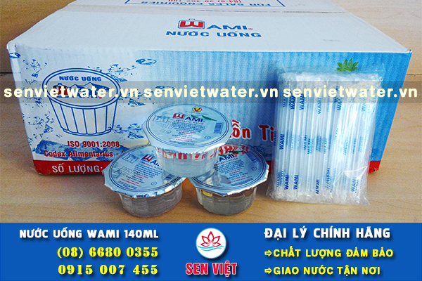 dai ly nuoc suoi ly nhua wami 140ml chinh hang