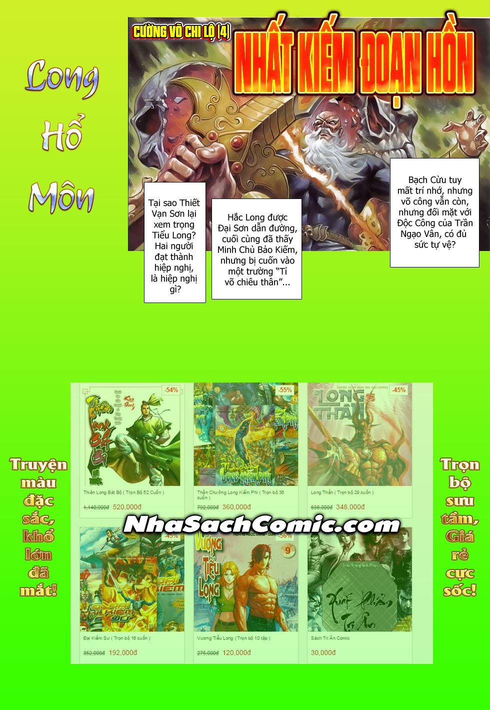 Tân Tác Long Hổ Môn Chap 794