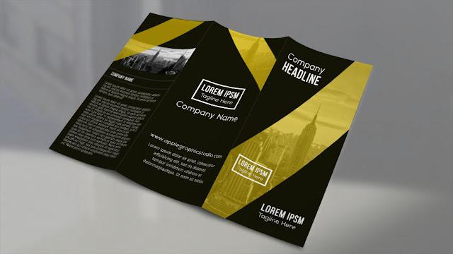 trifold-brochure Design a Trifold Brochure - Part 1 - Photoshop CC Tutorial download