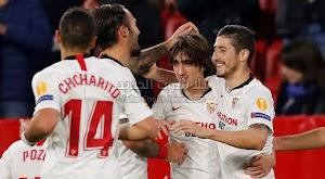 اشبيلية يحقق الفوز الخامس على التوالي في الدوري الاوروبي بالفوز على فريق كارباكا اغدام