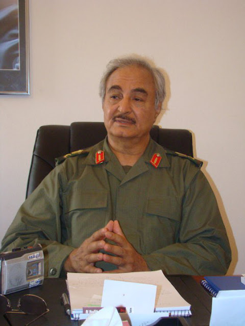 Image Attribute: General Khalifa Haftar, / Source:Wikipedia , CC BY 2.0