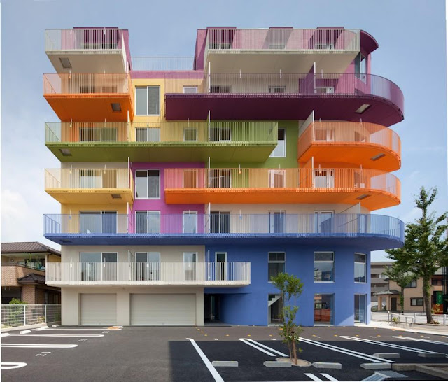 Colorful Buildings: Top 10 Colorful And Beautiful Buildings