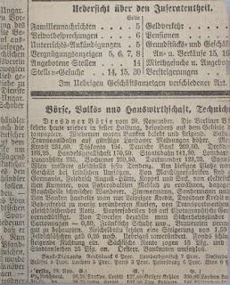 Ausschnitt - Tägliche Rundschau - wahrscheinlich Dienstag, 7. Februar 1899