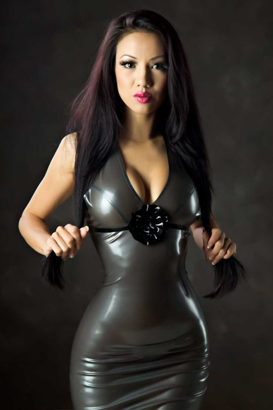 from Raphael women in latex nude pics