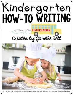 Check out how to encourage your students to write how-to texts. This how-to unit will support your Kindergarten and First Grade writers during Writing Workshop. Click to see more about how-to writing in my Kindergarten classroom.