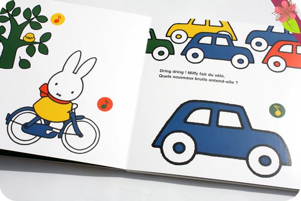 Qu'entends-tu, Miffy ? - Livre sonore de Dick Bruna - éditions Castelmore