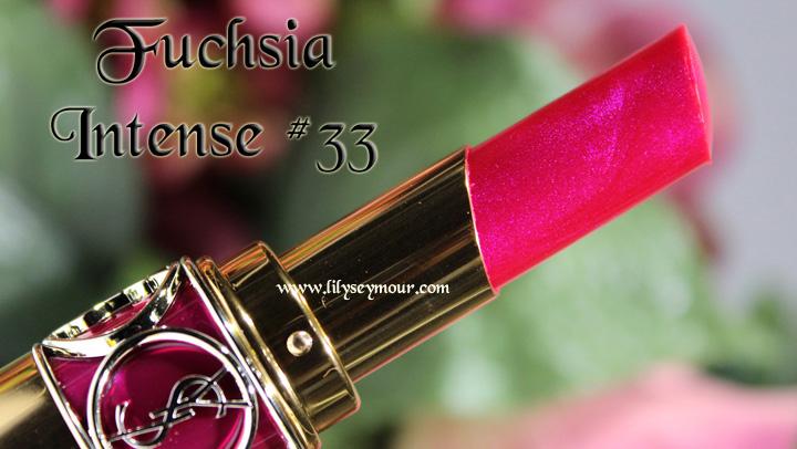 YSL Fuchsia Intense #33 Lipstick